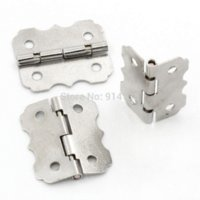 Wholesale Door Butt Hinges rotated from degrees to degrees Silver Tone Holes mm x mm B01458