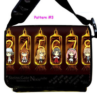 animate cross - Animate PU Messenger Bag Steins Gate Anime Sling Shoulder Cute Size cmx32cmx12cm