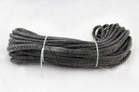 atv winch rope - 6MM M Strand Braid SL Dyneema fiber Synthetic Winch Rope use for ATV UTV SUV X4 WD
