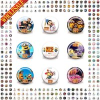 Wholesale Hot New DHL OR EMS Shipping mm Hot Games Mine Crafts Buttons Pins Badges Round Brooches Badges Party favor Clothes Bags Decoration