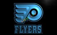 advertising flyer - LD097 TM Flyers Hockey Neon Light Signs Advertising led panel