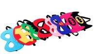 halloween props - Superhero mask Cosplay Superman Batman Spiderman Hulk Thor Princess Halloween Christmas kids adult Party Costumes Masks props