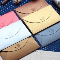 Wholesale 10pcs High Quality mm Envelope Exquisite Envelop Gift Card Packaging Envelops For Invatation Letter