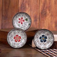 square dinnerware - YoHere kitchen dinnerware crackle glaze ceramic small tableware plate square and circle shape bowl