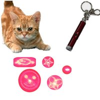 Wholesale Pet Laser Toy Dog Cat Toy Patterns Pointer Turn to Change the Pattern No Need to Change Head New Arrival
