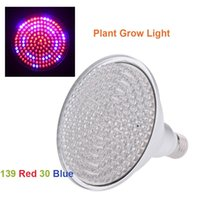 Wholesale Stylish W E27 Plant Grow Light Bulb Red Blue Energy Saving Garden Hydroponic Lamp for Indoor Flower Plants Growth order lt no track