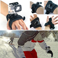 Wholesale Nice Large Size Glove Style Waterproof Case Band Mount Wrist Strap Mount Accessories For GoPro Hero1