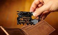 Cheap Credit Card Folding Pocket Mini Wallet Camping Outdoor Pocket Tools Folding Tactical Knife
