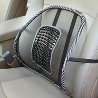 mesh chair office chair - Car Seat Office Chair Back Lumbar Massage Mesh Ventilate Cushion Support Pad Mat auto massage waist lumbar support