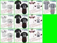 beckham team - 30 Teams Cheap Chicago White Sox Conor GILLASPIE Gordon BECKHAM Tyler SALADINO Jersey Baseball White Gray Black Stitch S XL