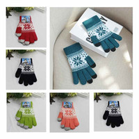 Wholesale Unisex Magic Touch Screen Winter Gloves Smartphone Texting Stretch One Size