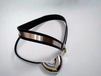 Cheap Male male pants Masturbation Best Chastiy Belt Stainless Steel Chastity belt men enforcer pants