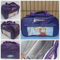 Wholesale AAAA quality baby girls Frozen Travel Bags cross body bag Frozen Princess Travel bags waterproof Frozen travel bags LJJD1131