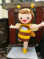 bee activities - Lovely Bee Cartoon Mascot Clothing Bee Mascot Costume Honeybee Cartoon Clothing Adult Size for Activity Props Party Dress Cartoon Characters