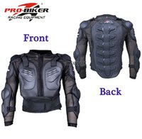 atv body armor - Bike Race Motorcycle Full Body Armor Jacket Spine Protector Motocross ATV Jacket Shirt Moto Armor Protection M XXXL P5