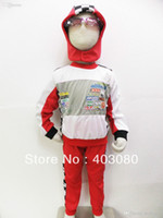 auto play games - Halloween costumes Children s Cosplay clothing Role playing Auto racing suit model clothing Free