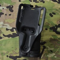 Wholesale Safariland P226 Waist Holster With Light Tactical Holster For P226 Airsoft Painball Belt Gun Holster CS Game Combat Gun Pounch