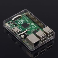 Wholesale New Raspberry Pi Model B B Plus MB Linux Based Board Acrylic Case Box Shell Enclosure
