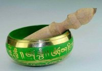 art copper supplies - Collectibles Buddhist supplies Tibetan Copper Singing Bowl S048