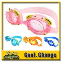 Wholesale New High Quality Child Swimming Glasses Kid Waterproof Anti fog Goggles Cute Adjustable Eyeglasses For Children