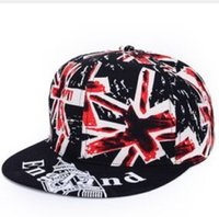 Wholesale 2015 Hot Europe and the hip hop cap ms rice word American flag flat hat