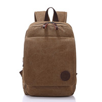 Wholesale Liyongyi new sports travel canvas bag student book computer bag Retro package Schoolbags College Leisure package