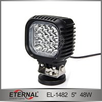 4500lm light duty truck - 48W lm excavator mining crane truck heavy duty harvester vehicles truck led flood work light