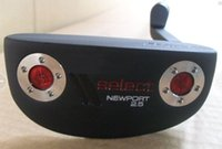 Wholesale golf clubs Select newport2 putters quot inch with steel shaft golf putter free heaedcovers