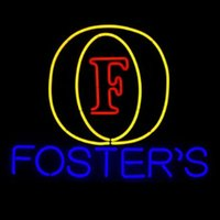 alcohol beers - Revolutionary Neon Super BrightFoster s Logo Beer Alcohol Neon Beer Sign quot x15 quot Available multiple Sizes