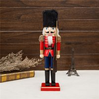best nylon rope - 2pcs Handmade Traditional Germay Soldier and King Nutcracker doll toys best gift for kids