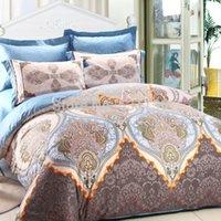 art duvet - home textile cotton bedding sets duvet quilt bed cover king queen size bedclothes comforters linen sheet printed art