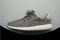 Cheap New Arrival Turtle Dove Grey Yeezy 350 Boots Running Shoes Women and Men Yeezy 350 Boots cheap Outdoor Sports Running Breathable S