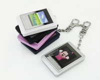 Wholesale Cute quot Inch Digital Photo Frame Mini Digital Picture Frame Keychain MB Memory For Wedding Xmas Gift