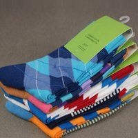 Sock colorful socks - combed cotton brand men socks colorful dress socks pairs