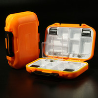 Wholesale waterproof boxes Plastic Buckle Case Styled Fishing hook lures Tool Tackle Box Compartments