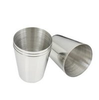 Wholesale New Mini Travel Camping Stainless Steel Whisky Flask Wine Kit Cups Tumbler Portable Stainless Steel Wine Cup ml