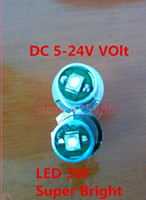 Wholesale New LED Bulb LED P13 S V W cree recessed screw p13 led W screw base LED p13 s w flashlight bulb V