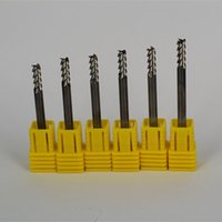aluminium raw materials - HRC flutes virgin raw material made solid carbide end mill for aluminium processing