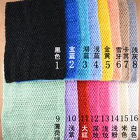 Cheap 20pcs Photography Prop Baby Crochet Top Tube HairBand head band Wrapped chest dress 32*24cm Crochet Chest dress tops tube