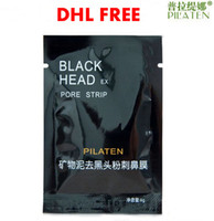 Wholesale 2000pcs PILATEN Tearing Deep Cleansing Purifying Peel off Blackhead Close Pores Face Mask Remove Cleaner Black Head Facial Mask Nose Care