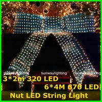led light cup - 6W LED Net Lamp Christmas Fairy lights Flashlights x1 m mx2m mx4m Meshwork LED String Strings Light lighting CE RoHs