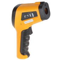 Wholesale Hot Compact Backlit LCD Digital Display Non contact IR Laser Sensor Infrared Handheld Thermometer to Degree Celsius INS_104