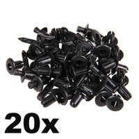 Wholesale In Stock New x for Toyota Lexus Black Plastic Rivet Style Body and Trim Panel Retainer mm Hole Clips