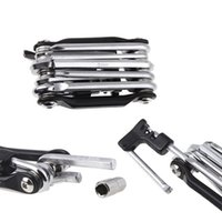 Wholesale Moutain Road Bike Folding Wrench Screwdriver Multi Function Bike Bicycle Mini Repair Tool in