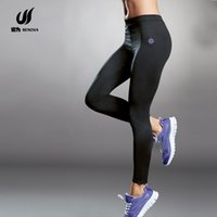 Wholesale 2015 Hot Fitness Women Yoga Sports Elastic Pants Force Exercise Tights Female Sports Elastic Fitness Running Trousers Slim Leggings Capris