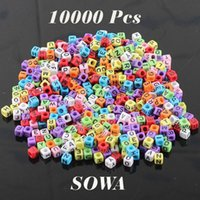 Wholesale Mixed colorful mm Rubber Bands DIY Silicone loom Refills Cube Letter Beads Pendants Charm Bracelets