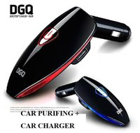 automatic air purifier - Car Air Purifier With USB Car Charger electric car air purifier automatic air freshener DGQ C1