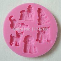 animal soap molds - 3D Animal Silicone Chocolate Mold Fondant Cake Decorating Tools Silicone Soap Mould Cake Molds bO2