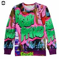 air tv series - OPCOLV New Fashion Women Men Usa Tv Series D Hoodies Print The Fresh Prince Of Bel Air Sweatshirt Casual Crewneck Punk Tops