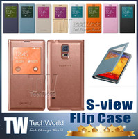 Cheap galaxy S5 smart case Best View Wake smart case